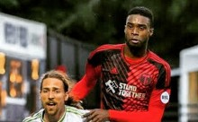Rennico Clarke scores his first goal for Portland Timbers 2