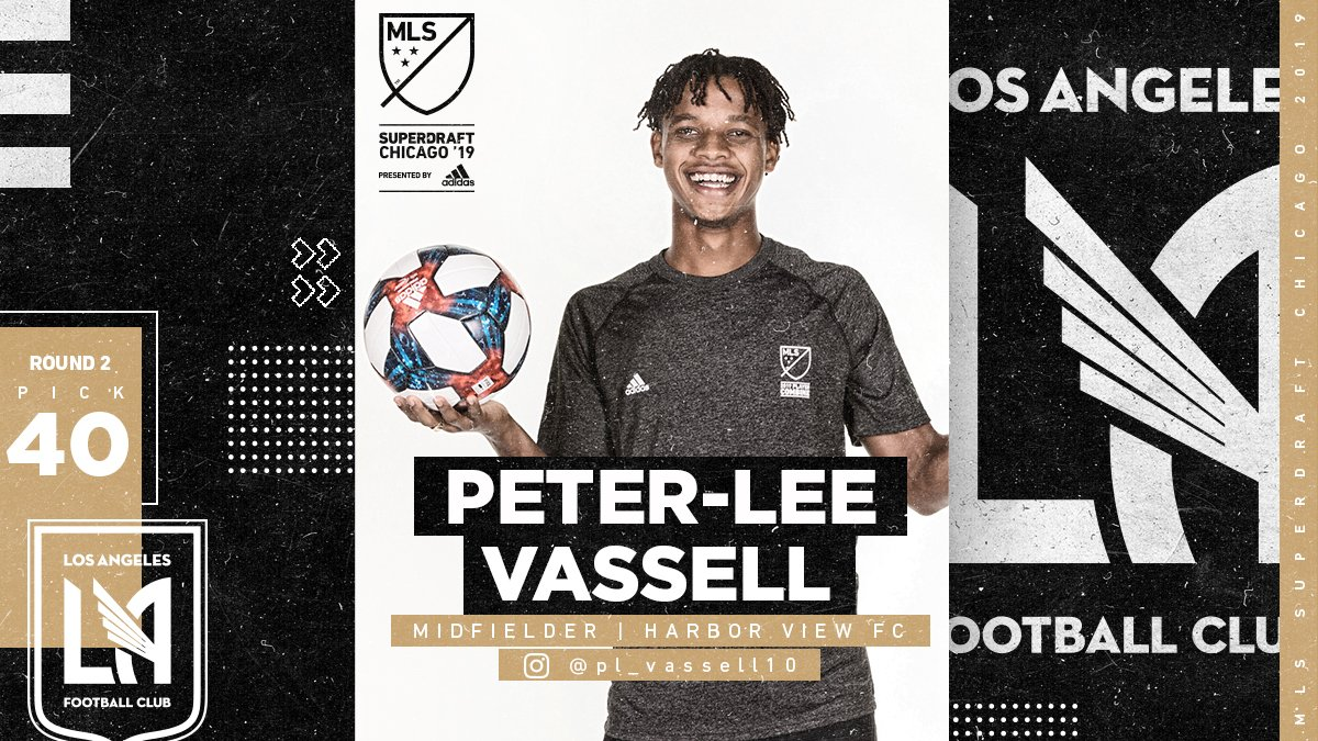 Peter-Lee Vassell picked in MLS Superdraft