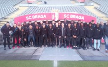 U17 Players in Portugal: Stadium Tour & Friendly Game