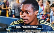 Philadelphia Union's new boy Brian Brown thanks coach after scoring