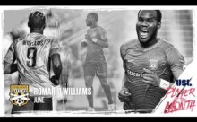 Romario Williams named USL Player of the Month