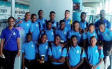 Day 1: Under-15 Team in Cayman